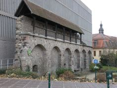 Stadtmauer - Fulda, DE  /   Original City Wall - Fulda, Germany  / taken by GerhardEric.com