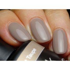 Get Pink Gellac 168 Elegant Taupe gel nail polish colour at www.pinkgellac.co.uk