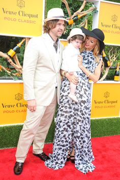 Rachel Zoe and fam at The 5th Annual Veuve Cliquot Polo Classic - - Harper's BAZAAR. Hats required!