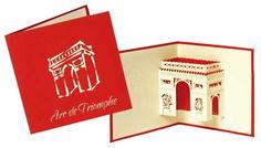Paris, Arc de Triomphe Pop Up | Love Paper, MH Editions