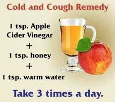 Diy cold & cough remedy