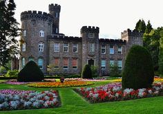 Side view of Cyfarthfa Castle in Merthyr Tydfil, Wales, UK This was my grammar school Wales Uk, South Wales, Welsh Castles, Sir Anthony, Royal Residence, Beautiful Places, Amazing Places, Old Houses, The Locals