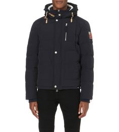 Woved down jacket