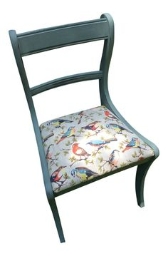 Should paint Aunt Anna's rocking chair and make cushion with Japanese silk...