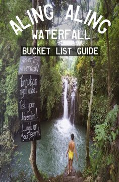 Aling Aling Waterfall is located near Singaraja in Bali Indonesia. There are 7 waterfalls in total ad it is one of the best waterfalls in Bali. Bali Holidays, Lombok, Ultimate Travel, Ubud, Oh The Places You'll Go, Southeast Asia, Backpacking, Travel Guide, Vacation
