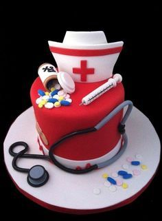 Nurse+Cake+-+Cake+by+The+SweetBerry