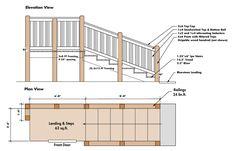 craftsman style deck railing ideas - Google Search