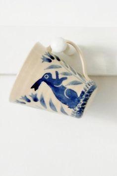 Blue hare mug - Cera