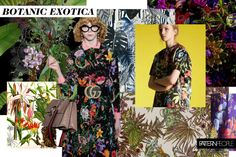 TRENDS // PATTERN PEOPLE - BOTANIC EXOTICA . SS 2018 (FASHION VIGNETTE)