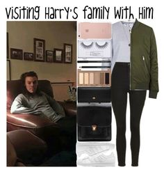 """""""Visiting Harry's family with Him"""" by heaven-139 ❤ liked on Polyvore featuring Topshop, adidas Originals, Hstyle, Mulberry, Urban Decay, Sonia Kashuk and Vero Moda"""