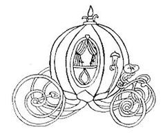 Here You Can See The Cinderella Carriage Black And White Clipart Collection Use These For Your