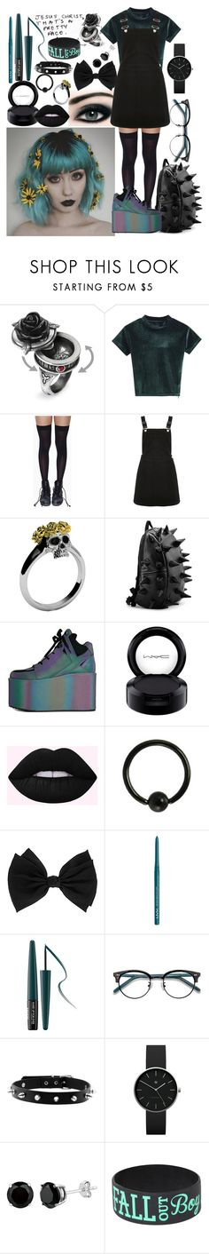 """""""Untitled #175"""" by theabyssofdepression ❤ liked on Polyvore featuring Leg Avenue, Oasis, Y.R.U., MAC Cosmetics, Lime Crime, Dorothy Perkins, NYX, MAKE UP FOR EVER, Ace and Newgate"""