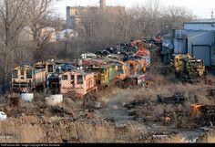 RailPictures.Net Photo: MKT 101 Missouri, Kansas & Texas Railroad (Katy) EMD GP7 at Dixmoor, Illinois by Rob Schreiner