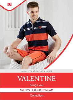 Be the Man everyone wishes to be. Flaunt your Style with trendy Lounge Wear collection from Valentine. Shop now at https://valentineclothes.com/men.html  #MEN #LOUNGEWEAR #MENSFASHION #FASHIONCLOTHING #CASUALWEAR #STYLE #FASHION #VALENTINE #VALENTINECLOTHES #MADEWITHLOVE #HAPPYSHOPPING