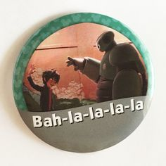 parkboundbuttons.com Image of Fist Bump Bah-la-la-la-la I'm Celebrating Button
