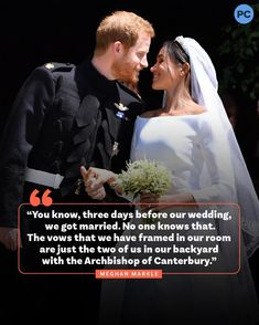 """PopCulture on Instagram: """"The Archbishop of Canterbury Justin Welby has denied #MeghanMarkle's claim that she and #PrinceHarry were married in their backyard three…"""" Harry And Megan Markle, Prince Harry And Megan, Canterbury, Vows, Got Married, Pop Culture, Our Wedding, Backyard, Patio"""