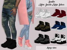 Sims 4 CC's - The Best: SEMLLER MARC JACOBS NINJA by Lumy Sims