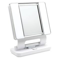 OttLite® Natural Daylight Makeup Mirror - White  - especially when it's harder to see up close! So clear and you can see the details better because of the type of bulbs in the light.