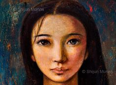 Chinese Painting, Portrait, Artwork, Mona Lisa, Jasmine Tookes, Alicia Keys, Collection, Eyes, History