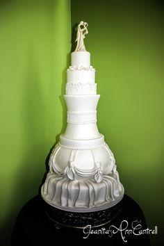 Wedding Cake by Tanya Williams at Midtown Cakes in Columbus Ga