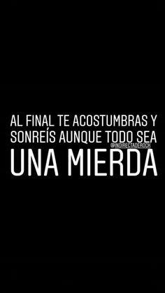 Sad Quotes, Words Quotes, Love Quotes, Im Sad, Sad Love, Ex Amor, Sad Texts, Inspirational Phrases, Spanish Quotes
