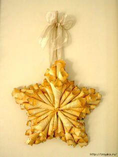 paper cone star