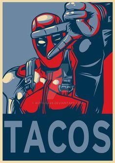 Deadpool For President..,