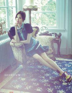 Seohyun girls generation #SNSD# kpop# Korean fashion style GG's tiny times