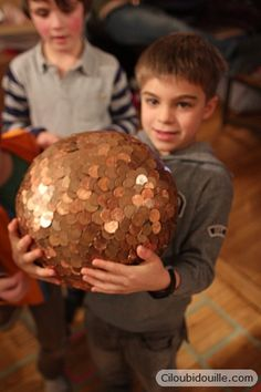 awesome pinata idea- a penny covered oval as a dragon egg and the kids break it open, get to keep the pennies  and the goodies inside