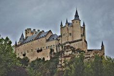 Alcázar de Segovia. Our Disney Castle. Segovia Castle. Spain.