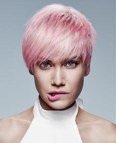 Jean Marc Maniatis Short Pink Hairstyles