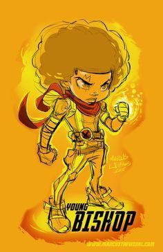 FEATURE: Atlanta-Based Illustrator Marcus Williams' League of 'Young Heroes' - AFROPUNK