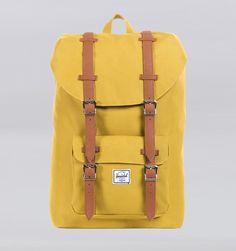 "Herschel Supply Co. Little America Mid Volume 13"" Laptop Backpack - Butternut"