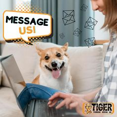 If you need to schedule an HVAC or plumbing service, don't hesitate to message us at m.me/TigerPlumbingHeatingAir, we'll be more than glad to assist you! 📩 Plumbing, Schedule, Messages, Ms, Timeline, Text Posts