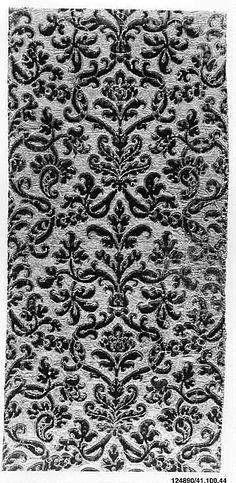 Runner Date: 16th century Culture: Italian Medium: Silk, metal thread Accession Number: 41.100.44