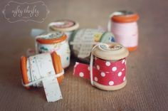 Make your own washi tape. | 56 Adorable Ways To Decorate With Washi Tape