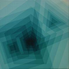 Alpha en Omega 10b (2000), Ger de Joode Color Limon, Offices, Geometry, Omega, Appreciation, Aqua, Lovers, Graphics, Graphic Design