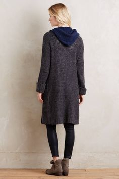 Hooded Lodge Cardigan - anthropologie.com