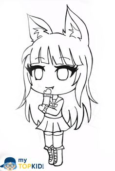 gacha life coloring pages unique collection print for free in 2020  witch coloring pages