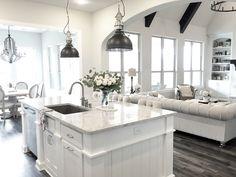 Cabinets -Sherwin Williams Pure White Walls - SW Repose Gray