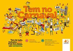 Não pulamos o Carnaval – Campanha Interna na Cebrace