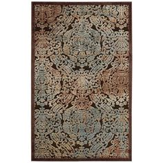 Graphic Illusions Chocolate (Brown) 2 ft. 3 in. x 3 ft. 9 in. Accent Rug