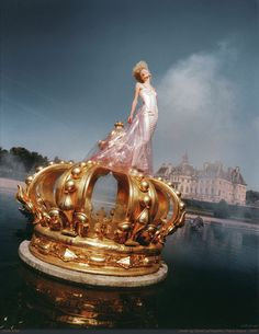 David LaChapelle, Couture story series, A Taste of Power, 1995. Photo