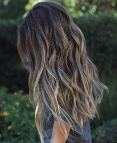Today the most popular Balayage Ombre hair color . Today the most popular Balayage Ombre hair colors Ombré Hair, Big Hair, Funky Long Hair, Long Hair Styles Straight, Layered Long Hair, Curls Hair, Afro Hair, Winter Hairstyles, Pretty Hairstyles