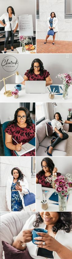 Brand Photo Shoot for The Boss Architect — Charuk Studios Photography Camera, Photography Branding, Teal Chair, Business Stock Photos, Red Bottom Heels, Photoshoot Inspiration, Photoshoot Ideas, Navy Floral Dress, Photo Shoot