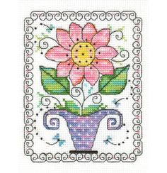 free cross stitch patterns in pdf format with flower