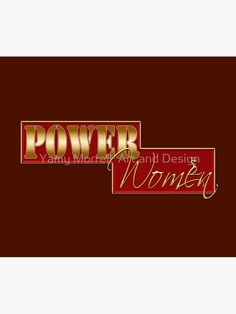 """Power women"" Travel Mug by YamyMorrell   Redbubble Powerful Women, Travel Mug, Finding Yourself, Typography, Neon Signs, Graphic Design, Motivation, Mugs, Artist"