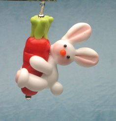 Made to order margo lampwork bunny