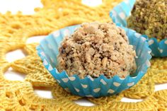 """Almond Walnut Truffles: These tasty morsels are a great """"pick-me-up"""" that will help satisfy your sweet cravings."""