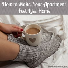 Moving into a new apartment can feel unfamiliar and not as comfortable as you would like it to be. Make your apartment feel like home with these tips!